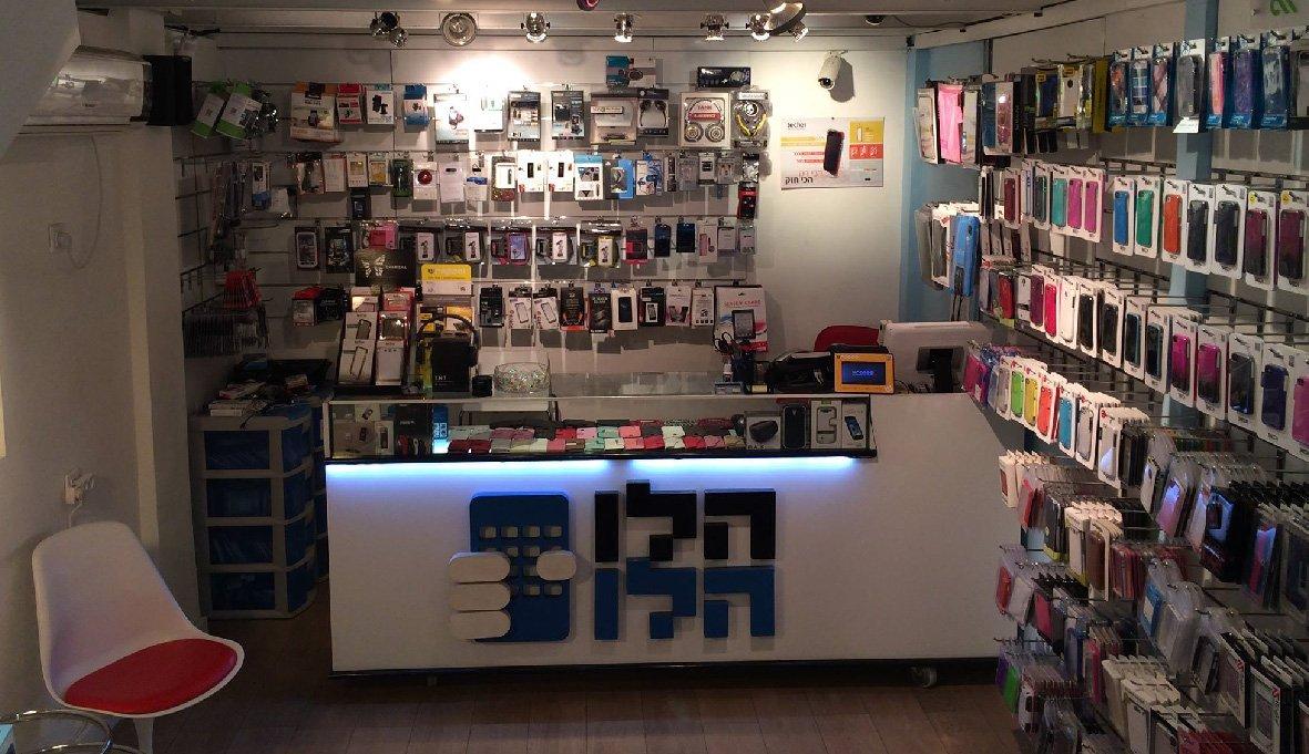 עיצוב חנות