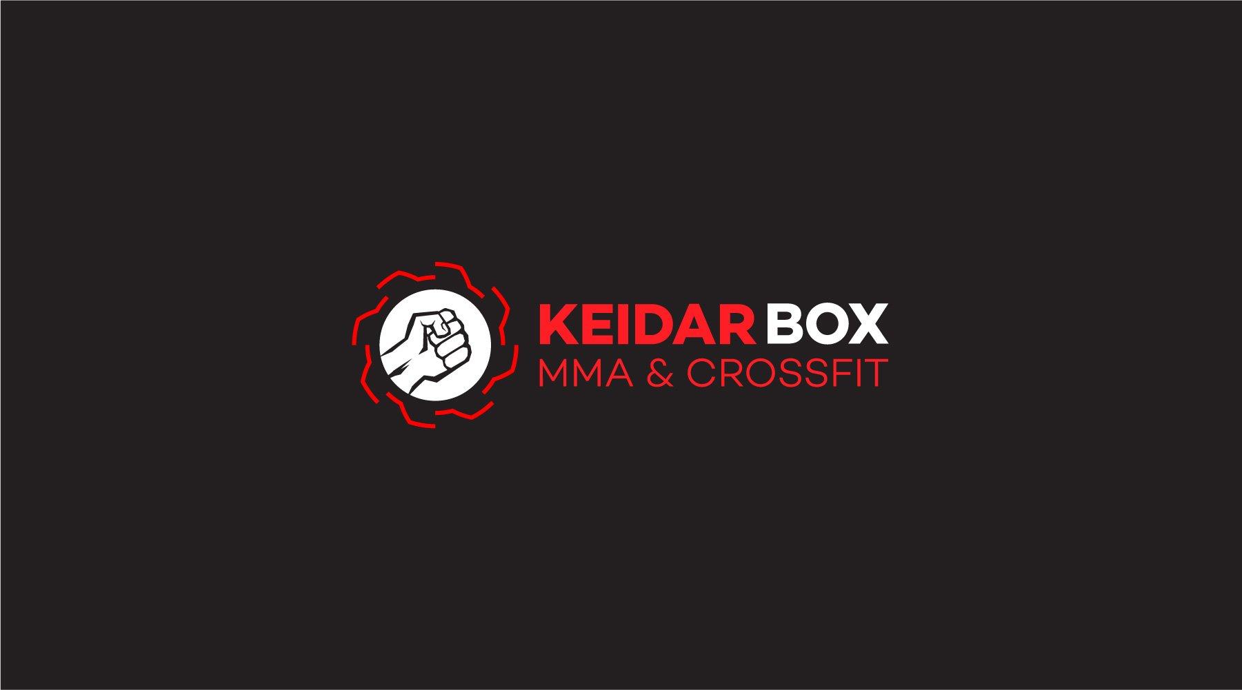 עיצוב לוגו לרשת אומנויות לחימה KEIDARBOX