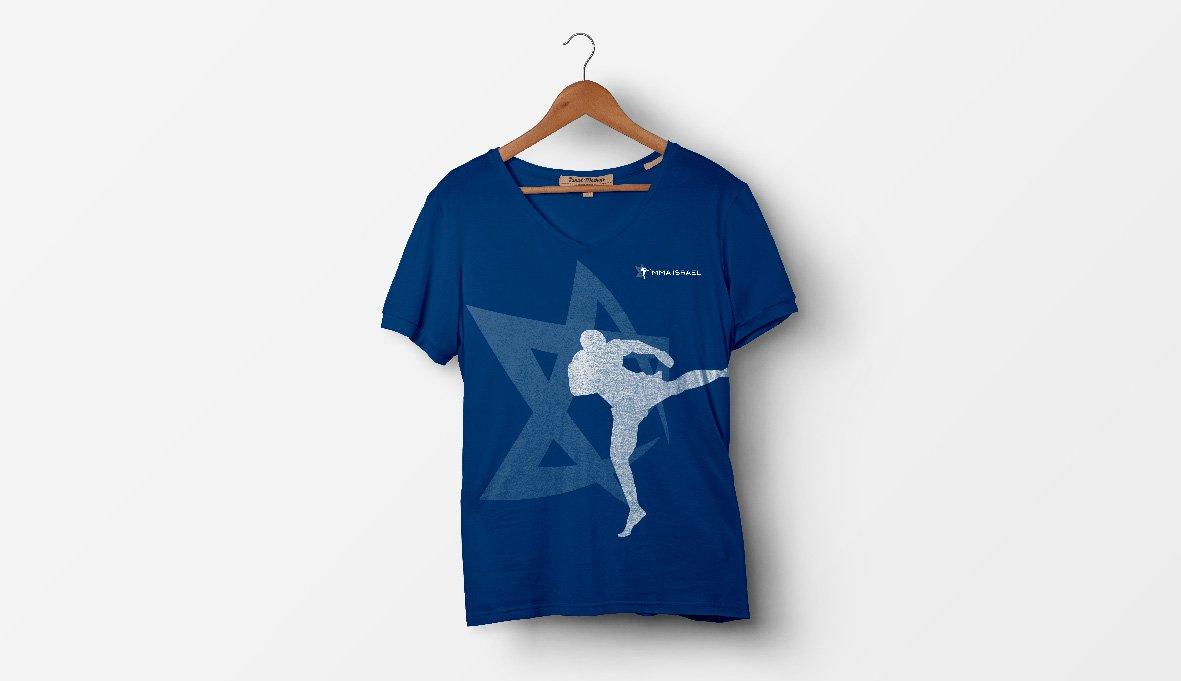 עיצוב חולצות עבור רשת בתי ספר לאומנויות לחימה