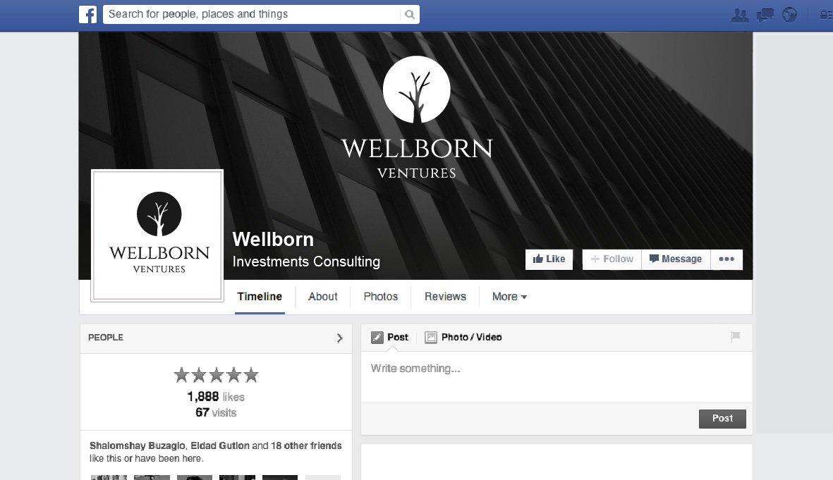 מיתוג עסקי ברשת החברתית עבור חברת השקעות