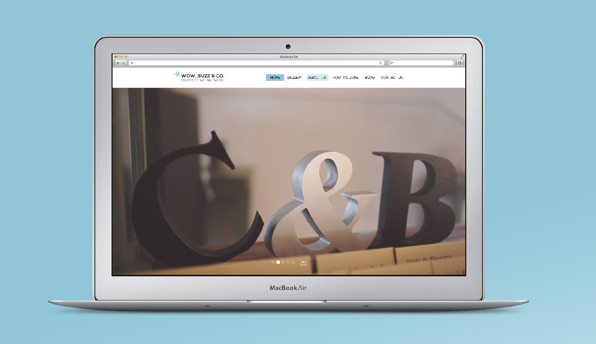 עיצוב אתר רספונסיבי עבור חברת הפקת וידאו