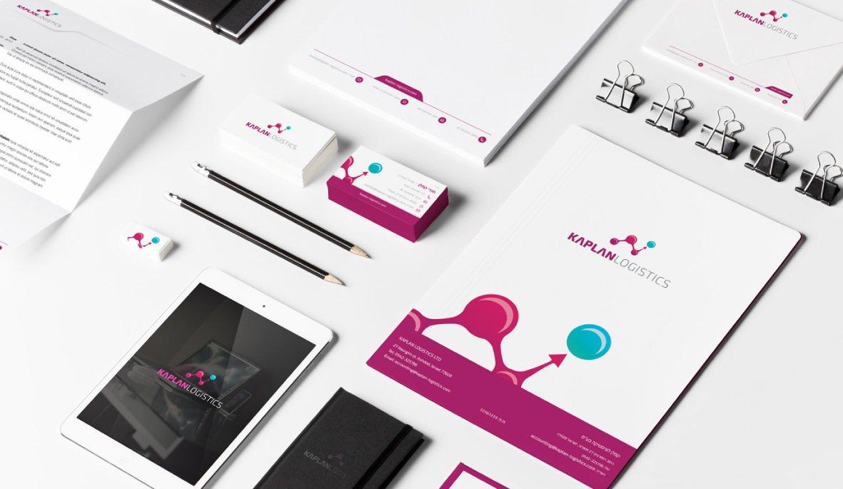 עיצוב ניירת משרדית - אלפא מיתוג עסקי